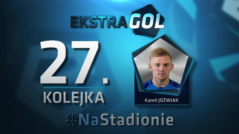 Kamil Jóźwiak autorem EkstraGola 27. kolejki