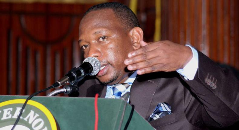 Nairobi Governor Mike Sonko during a past function