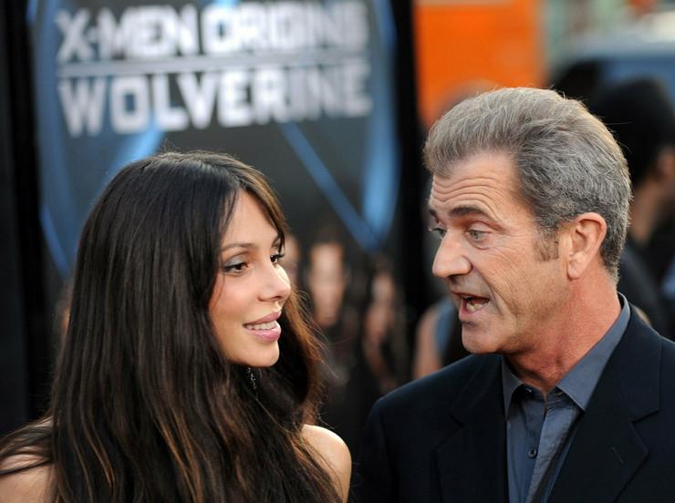 Mel Gibson sa bivšom devojkom Oksanom Grigorievom