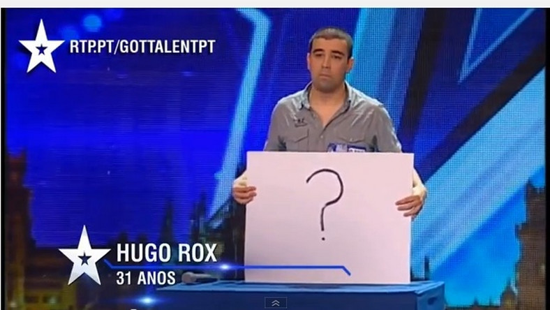 "zemsta w portugalskim ""Mam talent"""