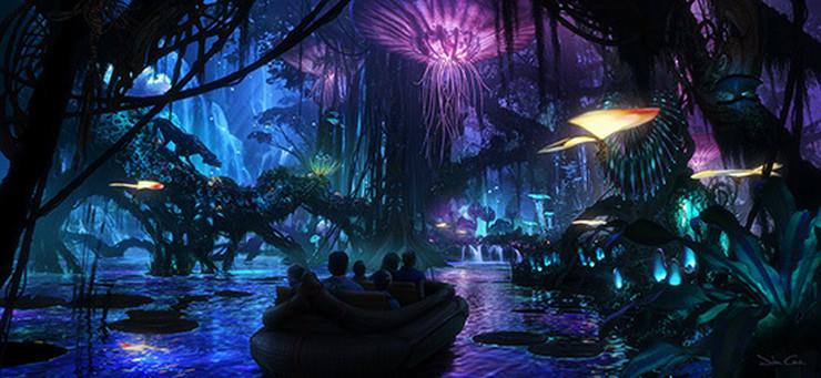 pandora avatar zabavni park03 foto Promo Disney