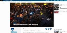 Francuskie media o Polsce: największy kryzys od upadku komunizmu