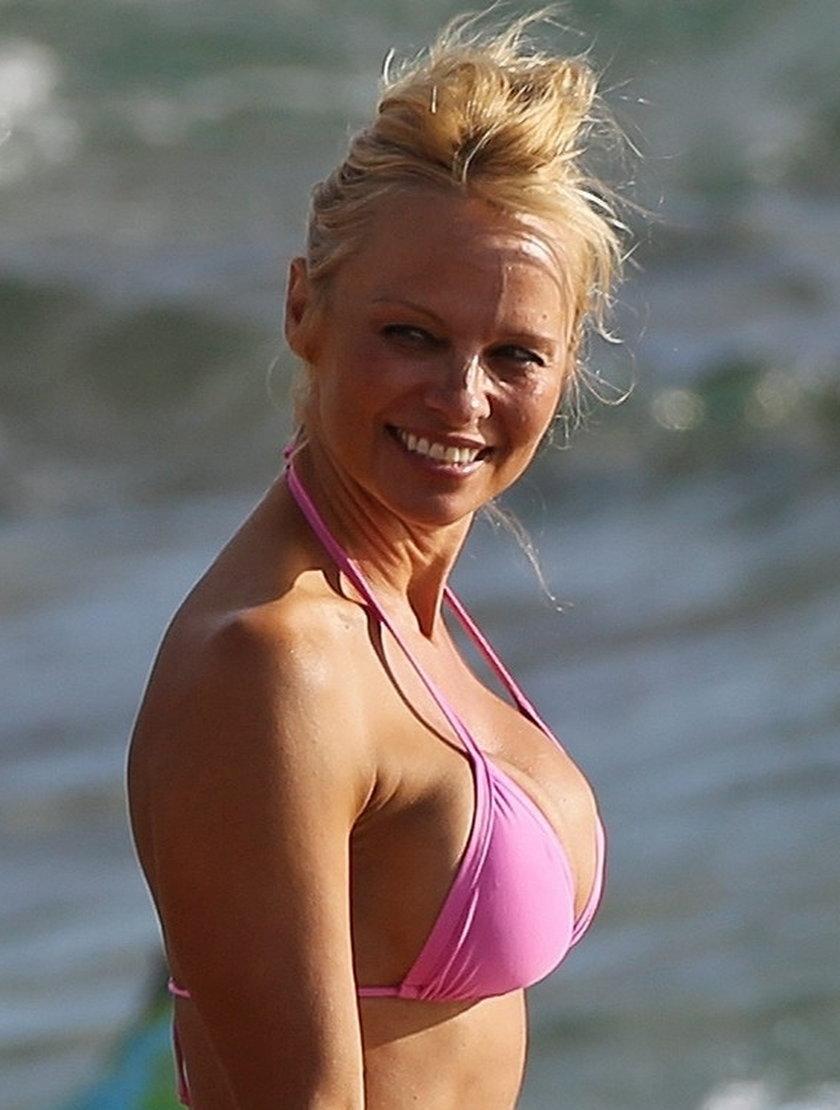 Pamela Anderson bez makijażu