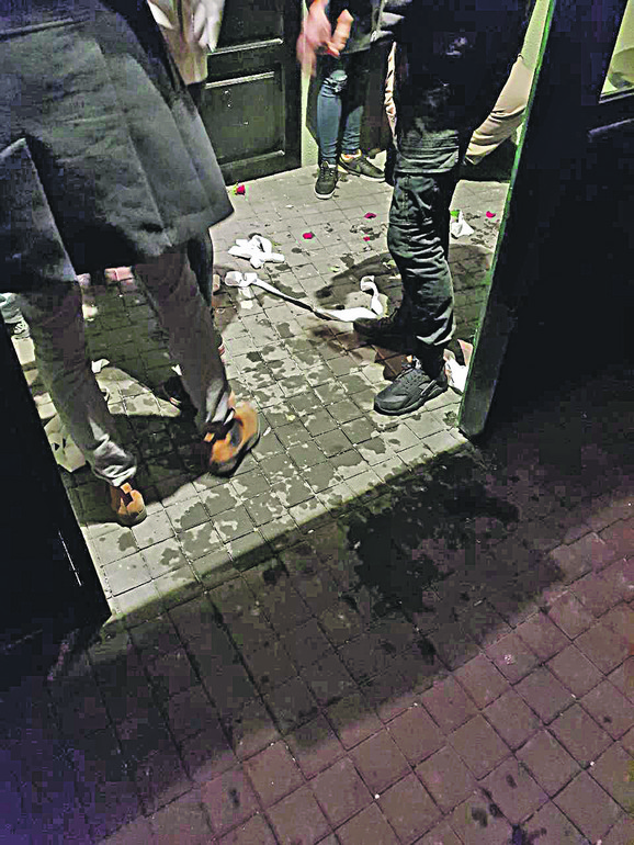 Teške telesne povrede zadobio je policajac koji je, navodno, radio kao obezbeđenje