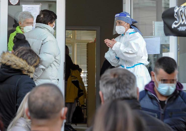 Kragujevac Dom zdravlja Kovid ambulanta RAS foto Nebojsa Raus45
