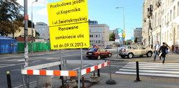 Znów rozkopią centrum Warszawy!