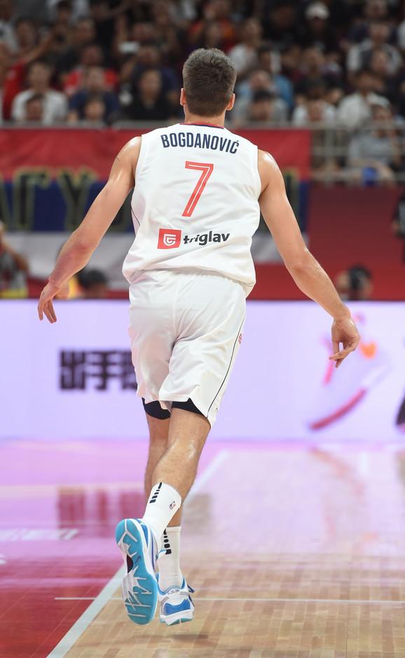 Bogdan Bogdanović na meču sa Češkom