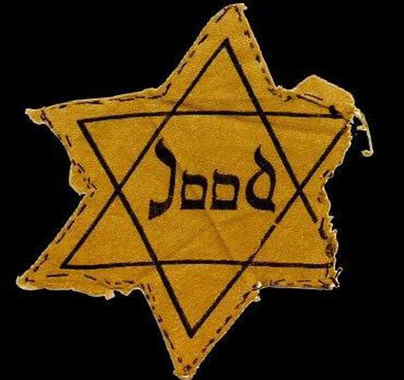 Zloglasni simbol koji je ujedno značio i kartu u jednom pravcu za koncentacioni logor
