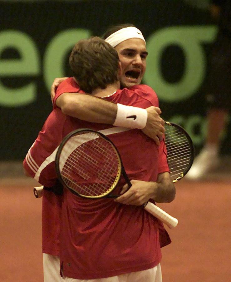 Rodžer Federer i Iv Alegro
