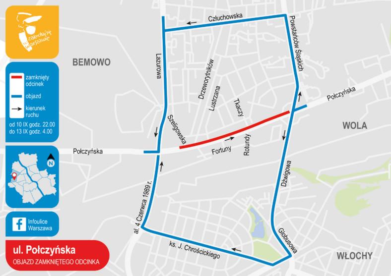 Warszawa, ul. Połczyńska