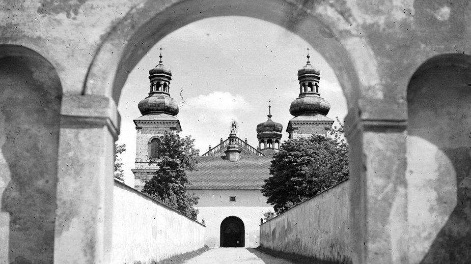 Klasztor na Bielanach w 1934 r.