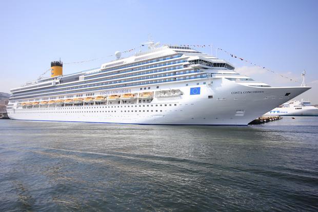 Costa Concordia przed katastrofą