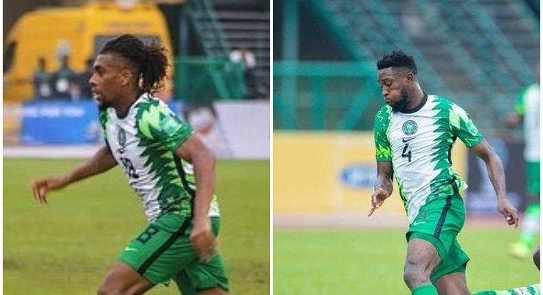 Alex Iwobi and Wilfred Ndidi were missing as Super Eagles lost to CAR on Thursday
