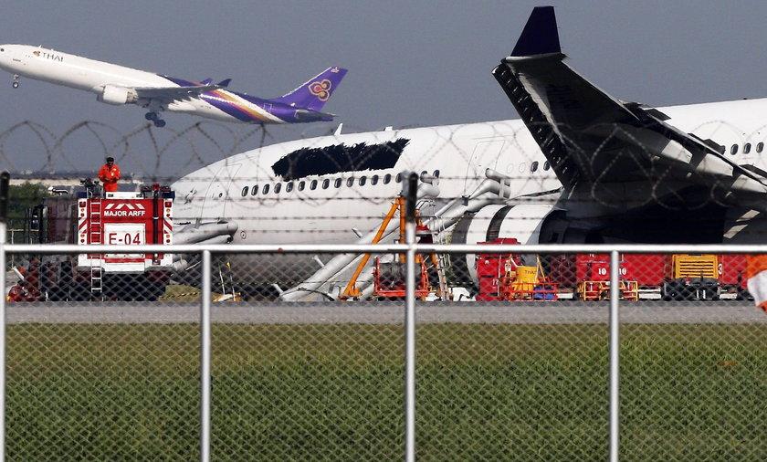 Wypadek samolotu w Bangkoku