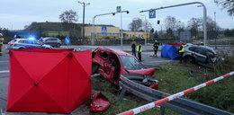 Tragiczny wypadek pod Dąbrową Górniczą. Zginęły dwie osoby