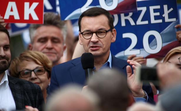 Program społeczno-gospodarczy PiS ma doprowadzić do podniesienia dobrobytu wszystkich Polaków - powiedział w niedzielę w Busku-Zdroju premier Mateusz Morawiecki.