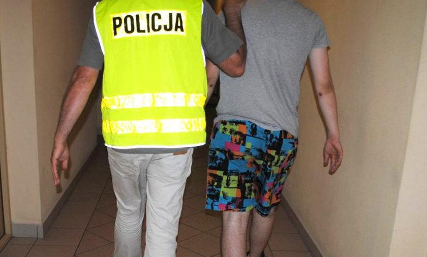 21-letni oszust został zatrzymany na gorącym uczynku