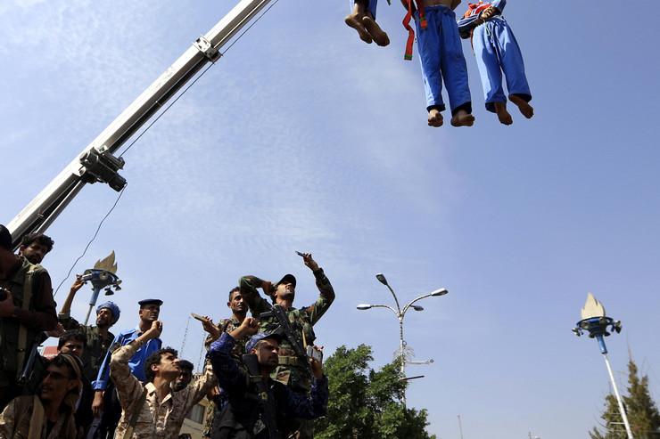 Jemen javna egzekucija pedofili EPA YAHYA ARHAB