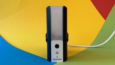 Blaupunkt Wifi Lampcam im Test: Solide Kamera, dünne App
