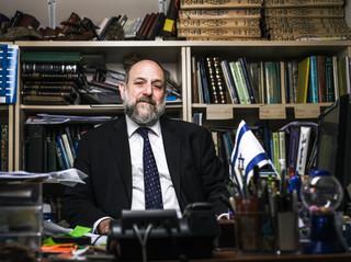 Kiedy stosunki polsko-żydowskie będą normalne? Wywiad z naczelnym rabinem Polski