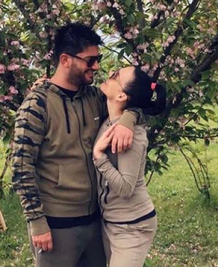 Miljan Mrdaković i Ivana Stanić
