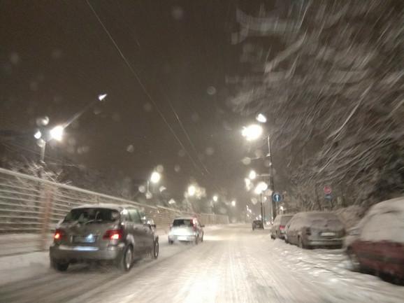 Ovako je sinoć bilo u Beogradu