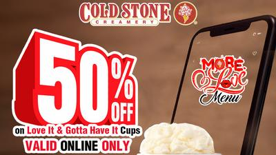 Indulge like never before in the Cold Stone September 30-day online deals!!!