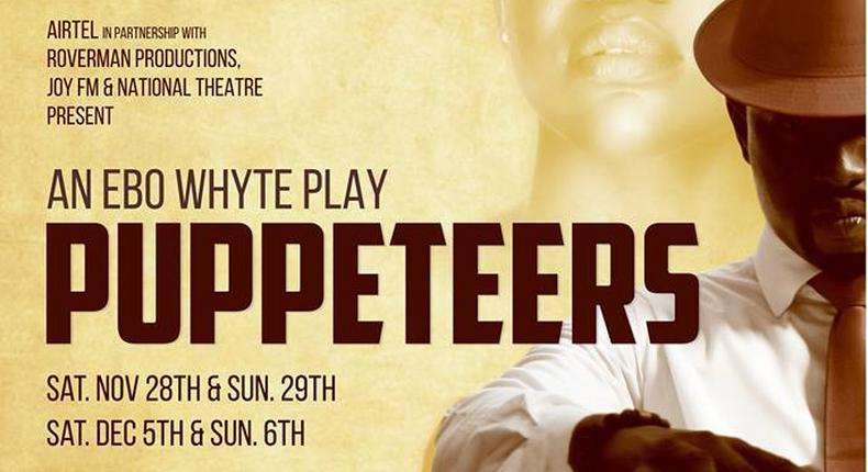 Puppeteers shows on 28th and 29th November; 5th and 6th December at the National Theatre at 4pm and 8pm respectively.