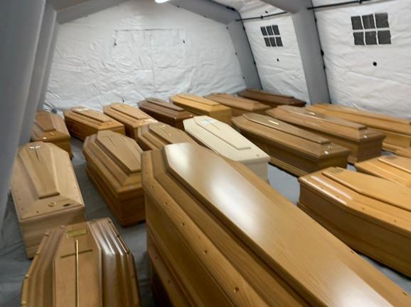 Kada u jednom danu umre 800 zaraženih, to je italijanski scenario