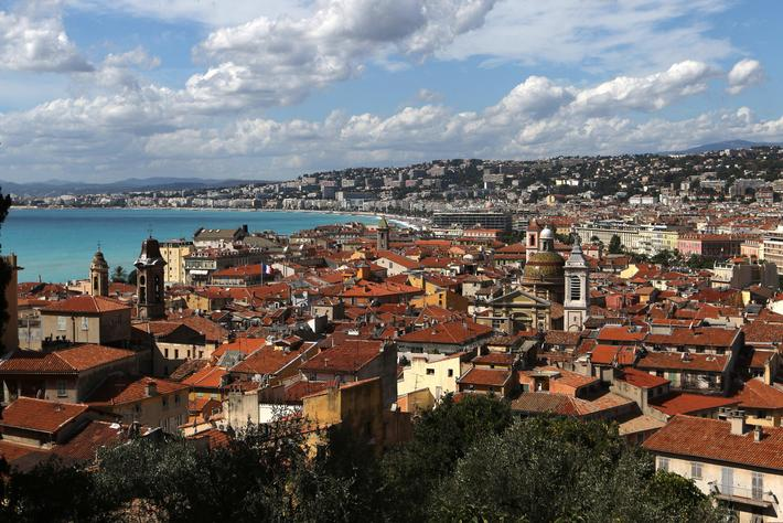 Cityscape of Nice
