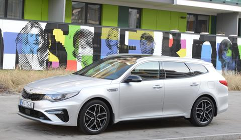 Kia Optima Kombi – bardzo dobra alternatywa | TEST