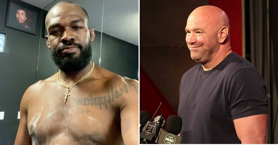 Jones za walkę z Ngannou chciał pieniędzy jakie dostaje Deontay Wilder, 30 milionów – Dana White