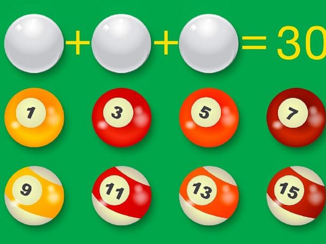 Ovo su EKSPRESNI TESTOVI inteligencije: Ispod kuglica skrivena su tri broja - znate li koja?