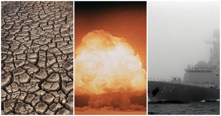 kolaž globalni problemi