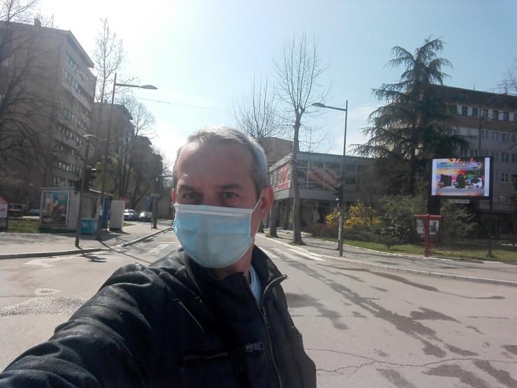 Naš reporter sam na pustim ulicama Valjeva