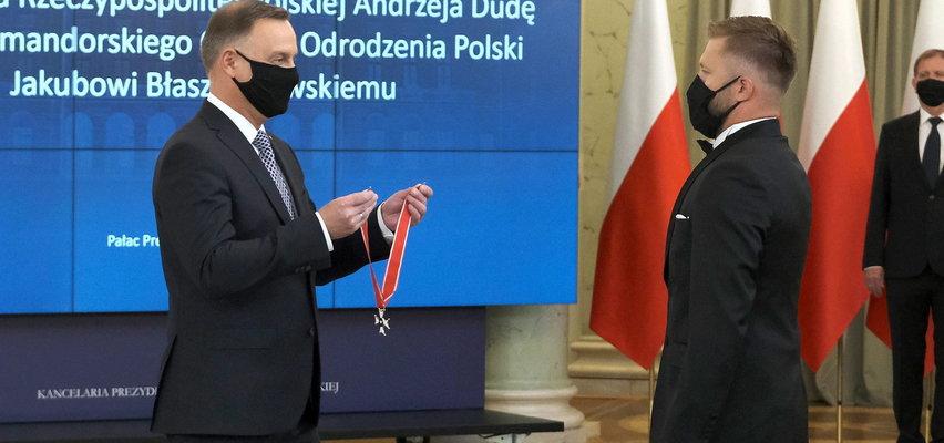 Prezydent odznaczył Kubę Błaszczykowskiego. Piłkarz otrzymał Krzyż Komandorski Orderu Odrodzenia Polski