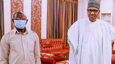 How Oshiomhole attacked Governor Fayemi after meeting with Buhari