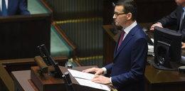 """Pojednawcze expose Morawieckiego w Sejmie. """"Czas odrzucić podziały""""!"""