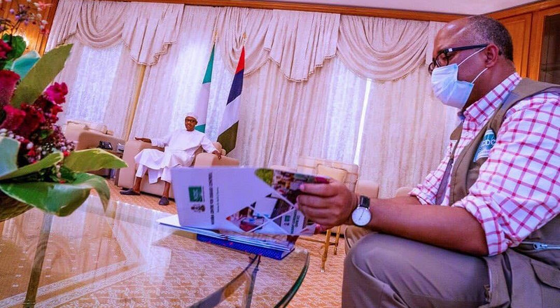 Coronavirus: I'm personally proud of you - Buhari tells Ihekweazu