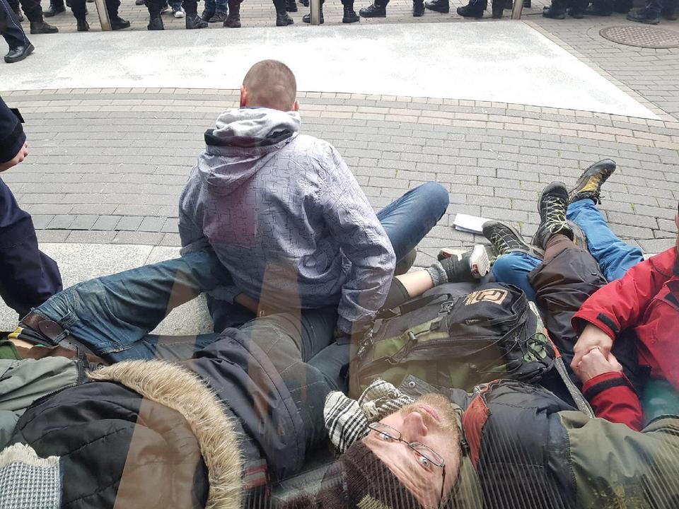 Okupacja siedziby Lasów Państwowych. 22 osoby zostały zatrzymane