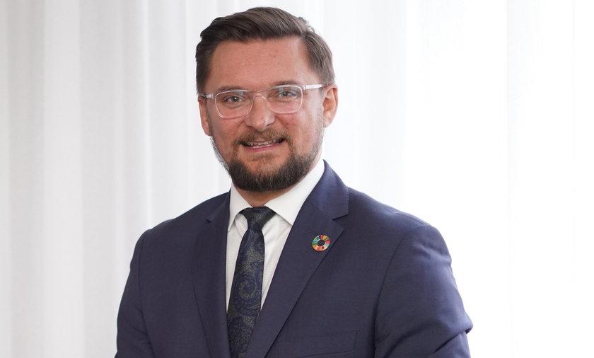 Marcin Krupa (45l.) prezydent Katowic.