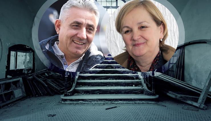 ruine kombo RAS Petar Dimitrijevic, Aleksandar Dimitrijevic, Shutterstock