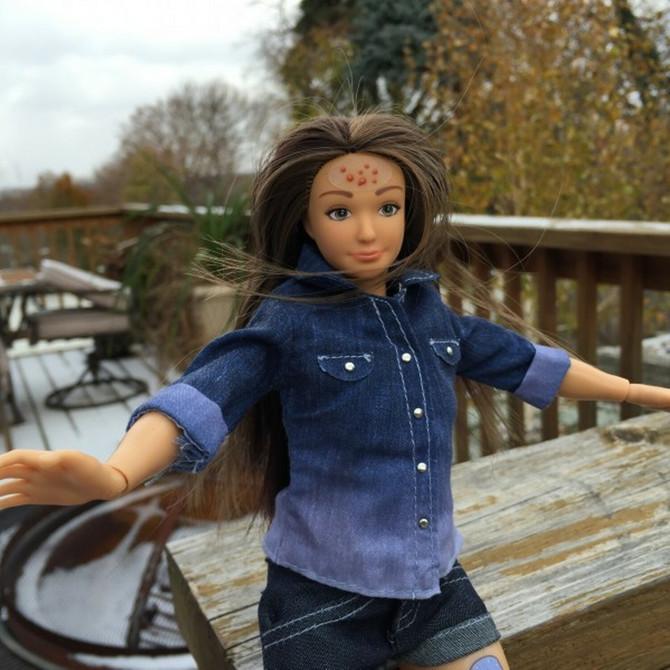 Sada su se pojavile i Barbike koje nisu savršene, recimo imaju akne