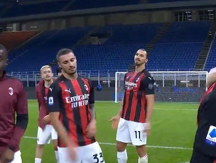 Rade Krunić i Zlatan Ibrahimović