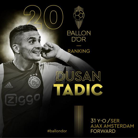 Dušan Tadić Zlatna lopta