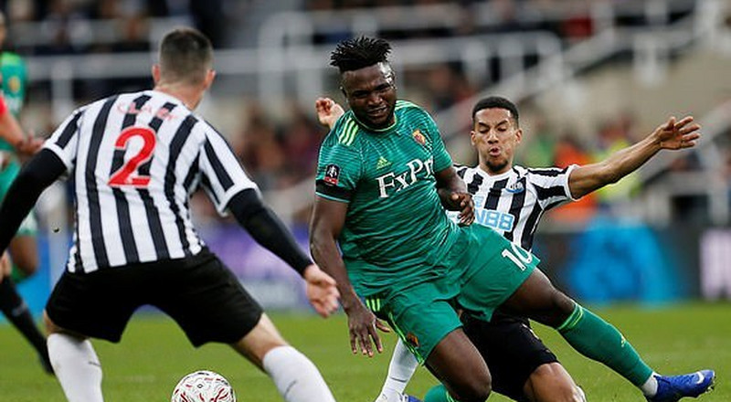 Watford striker Isaac Success ruled out of FA Cup clash with QPR