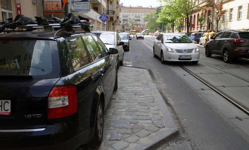 zwężają ulice w centrum miasta