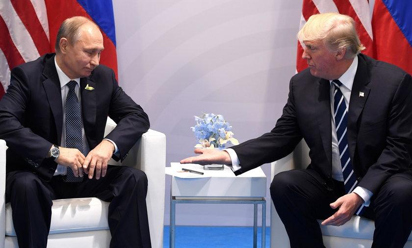 Kiedy dojdzie do spotkania Putina z Trumpem?