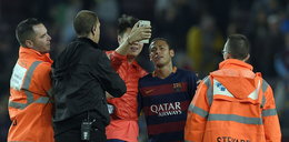 Kibic zrobił sobie selfie z Neymarem. Piłkarz może zostać ukarany