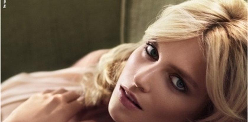 Anja Rubik reklamuje perfumy